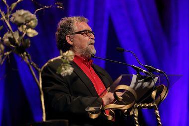 john busbee presenting at 2018 cloris awards